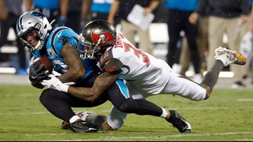 Panthers lose at home to Buccaneers; team 0-2 so far this season