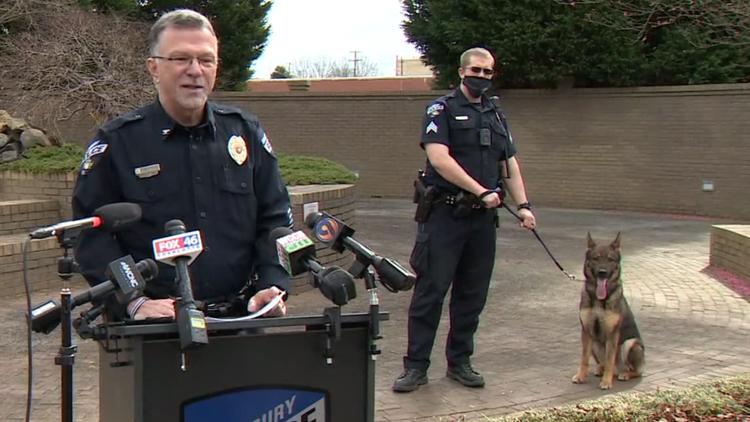 Salisbury Police investigating training incident involving canine