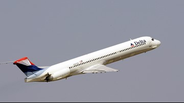 Green laser pointed at Delta flight headed to Charlotte airport, FAA confirms