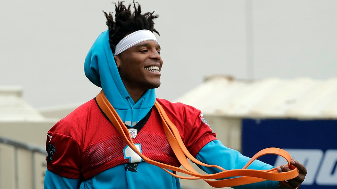 Report: Panthers plan to move forward with Cam Newton as starting QB