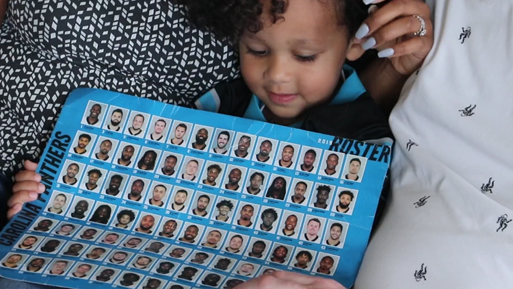 Three-year-old can name every Panthers player on the roster