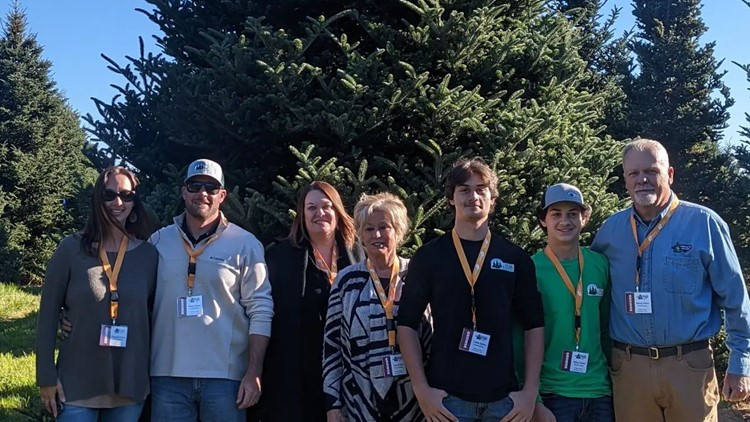 2021 White House Christmas tree selected from Ashe County farm