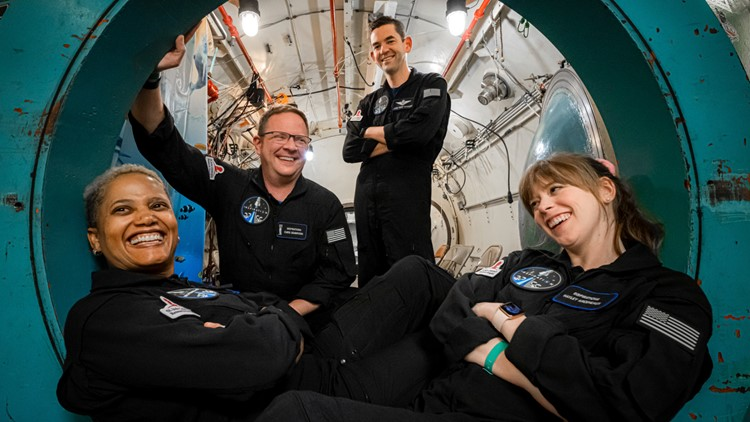 Kannapolis native to spend 3 days in space as part of all-civilian SpaceX crew