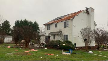 Severe storms leave behind damage, flood threat