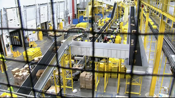 Exclusive: Behind the scenes of Charlotte's Amazon Fulfillment Center