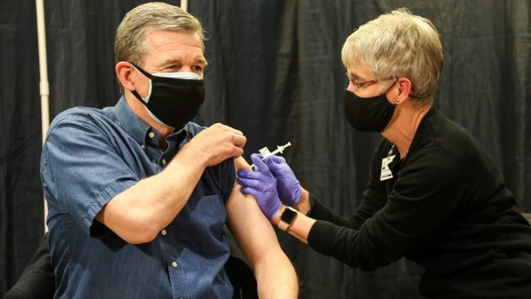 Cooper receives COVID-19 vaccine a day after he announces Group 3's eligibility