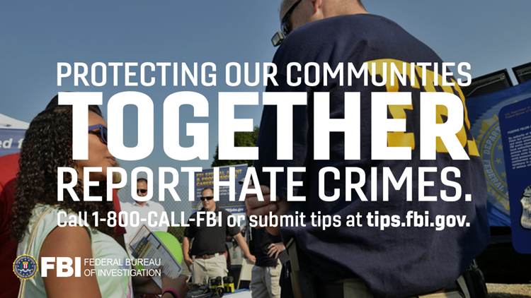 FBI launches ad campaign to promote hate crime awareness
