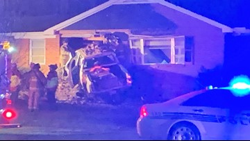 'Sounded like a bomb went off' | Truck crashes into NC home
