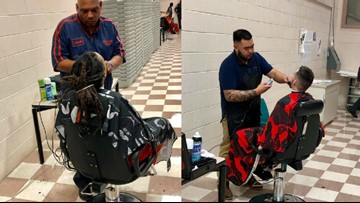 Barbers Give Charlotte Inmates Free Haircuts Before Their First Career Fair