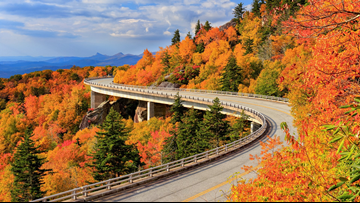 When To Expect Peak Fall Color In North Carolina