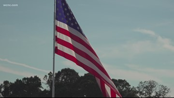 'It's About the Size': NC City, Company Debate Over Massive Flag