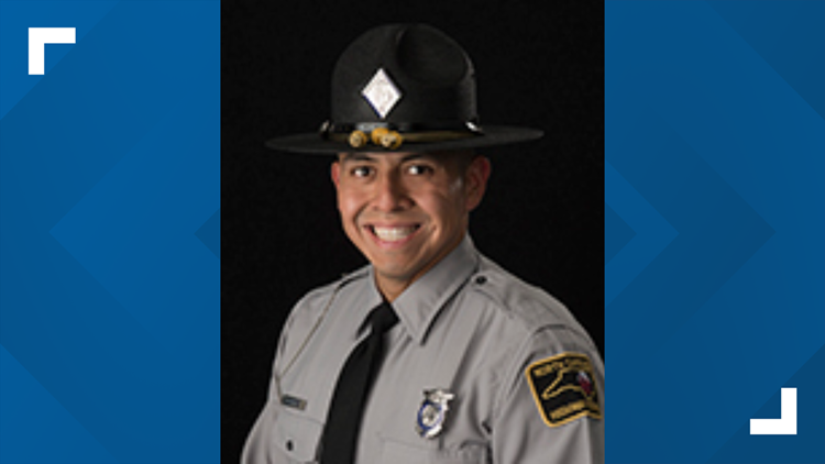 Trooper seriously injured in crash on I-485 returns to duty