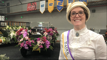 Teacher explores thorny history of women's suffrage at Rose Parade