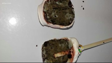 Mother says daughter's cake pop was full of mold at new dessert bar in Texas