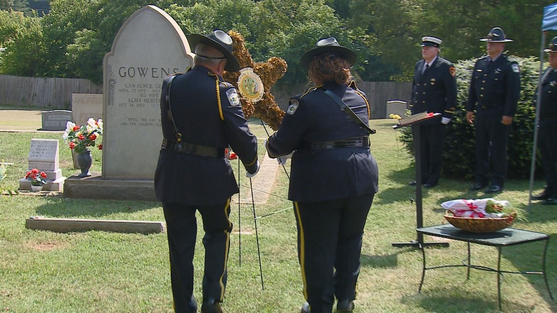 PHOTOS | Wreath-Laying For Alamance County Sheriff Deputy