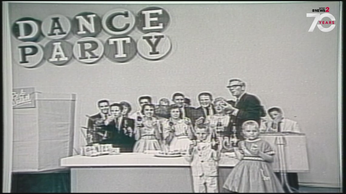 WFMY Turns 70: Rock 'N' Roll Era Takes Over! Throwback To 'RC Dance Party' TV Show