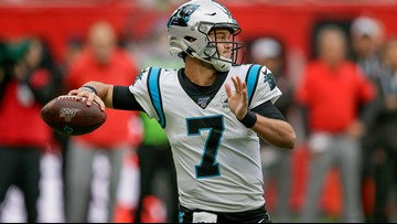 Panthers trade Kyle Allen to Washington for 5th round pick