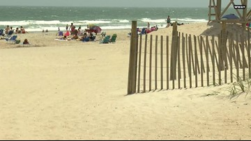 Hurricane Florence Beach Erosion Leading To Stronger NC Rip Currents