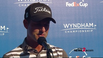 Webb Simpson Interview After Shooting (-5) 65 In Second Round Of Wyndham Championship