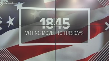 The history of Super Tuesday, and when did North Carolina join the primary day?