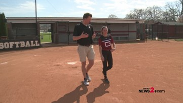 A final walk around the bases: Guilford senior talks athletic career cut short