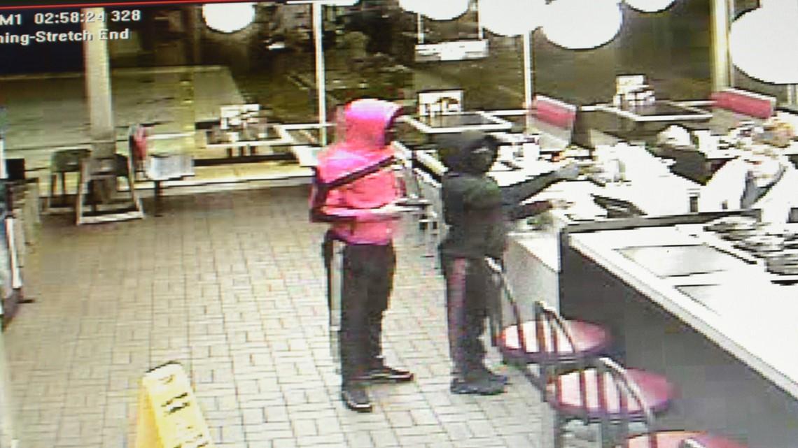 PHOTOS: Burlington Waffle House robbery