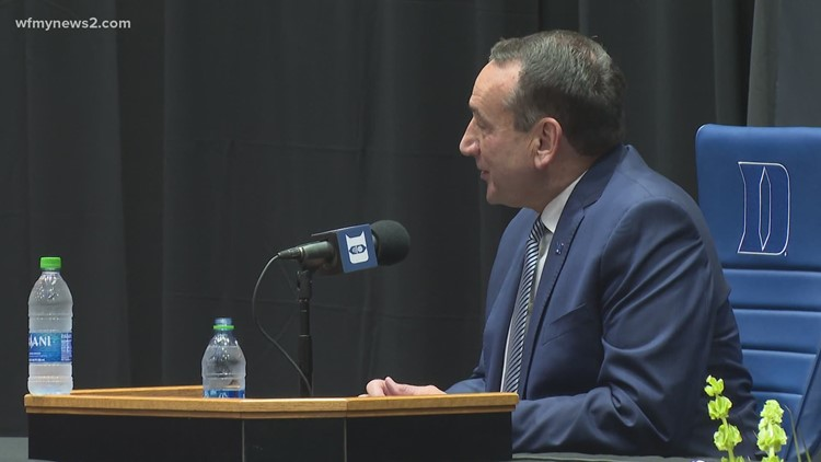 'I've been a very lucky guy' | Duke University's Coach K discusses decision to retire