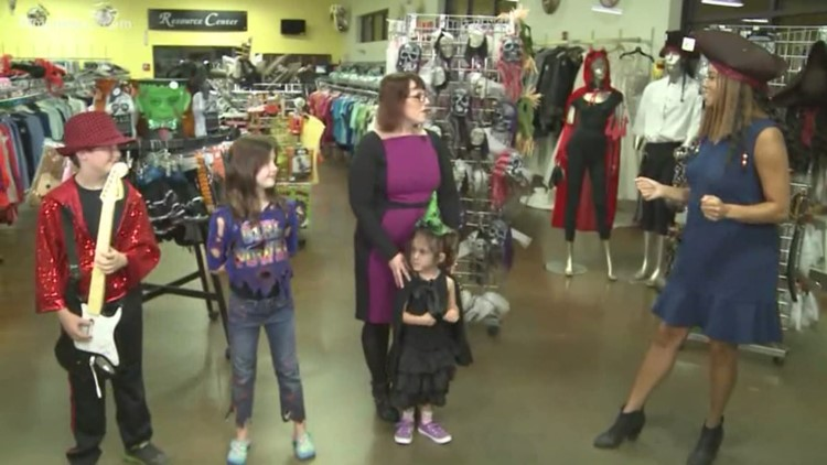 halloween costumes that wont break the bank at triad goodwill