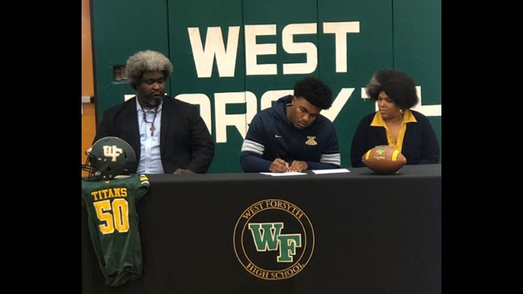 West Forsyth's Isaiah Brooks signs with North Carolina A&T