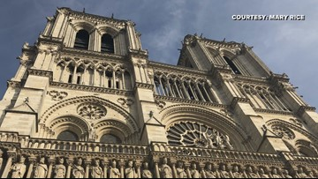 'It Was The Saddest Thing I've Ever Seen' | Greensboro Woman Took Photos Of Notre Dame Minutes Before Devastating Fire