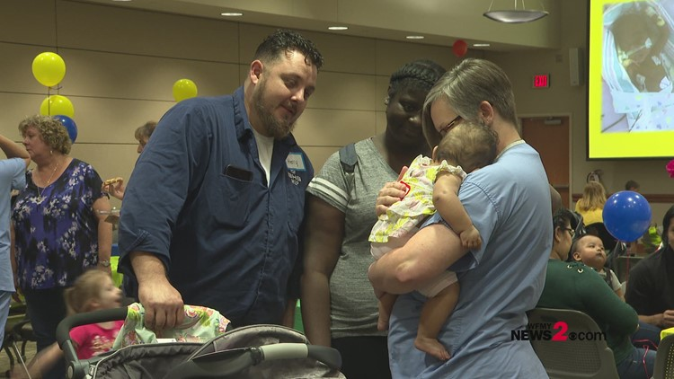 'Preemie Party.' NICU Babies Reunion at Forsyth Medical Center