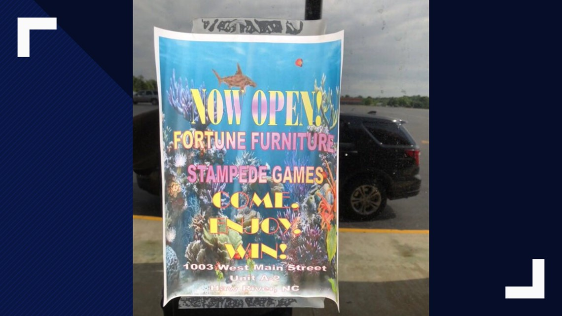 50 Illegal Slot Games Seized From Haw River Business | wfmynews2 com