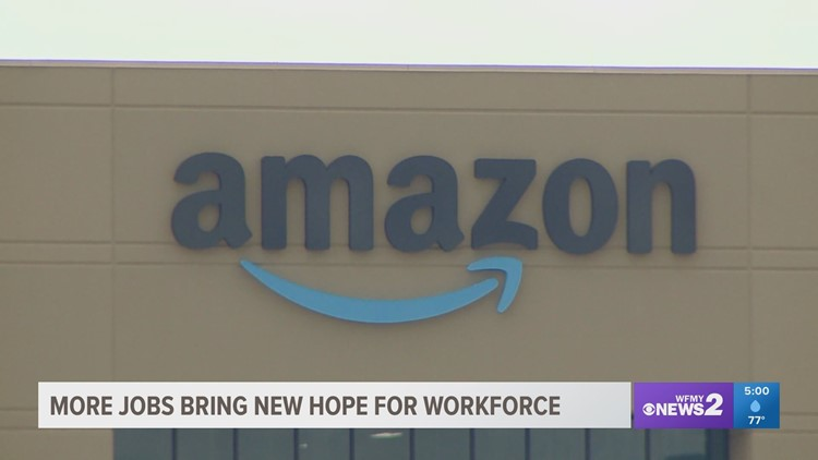 Impact 400 new Amazon jobs will have on the Triad