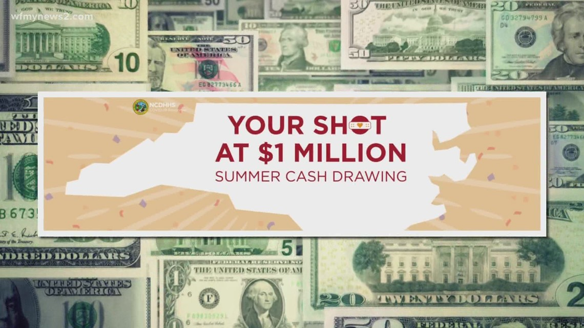 North Carolina starts vaccine lottery with a prize of $1 million