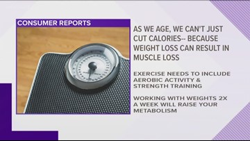 How to lose weight as you get older