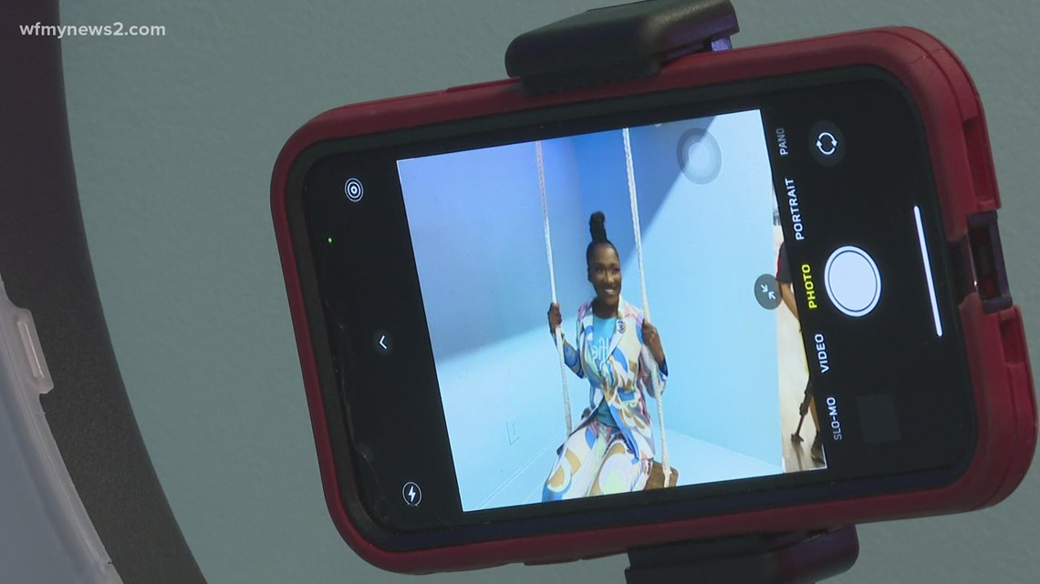 Snap the picture perfect selfie at this special spot in Greensboro