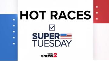Super Tuesday | The hot races that are taking over North Carolina