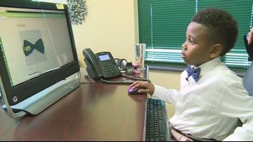 7-Year-Old Greensboro Boy Starts Bow Tie Company