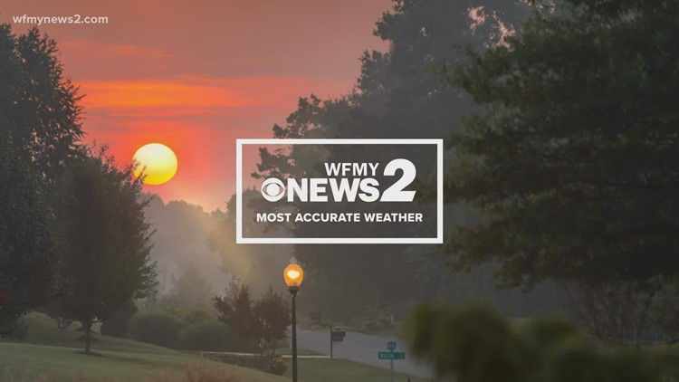 Christian Morgan's early Saturday morning weather update