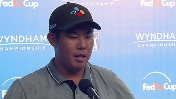 Ben Hun An Interview After Third Round Of Wyndham Championship