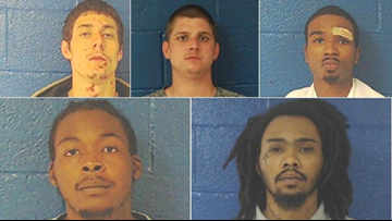 'Lock Your Cars, Lock Your Homes': Nash Co. Sheriff Issues Warning After Inmates Escape; 4 Caught, 1 Still Wanted