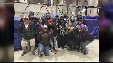 'It's really an adrenaline rush': Greensboro Super Bowl volunteer shares halftime show experience