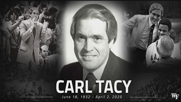 Former Wake Forest basketball coach Carl Tacy dies at 87