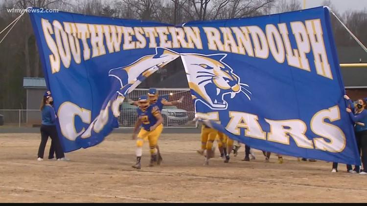 Southwestern Randolph High School's football season sidetracked by coronavirus