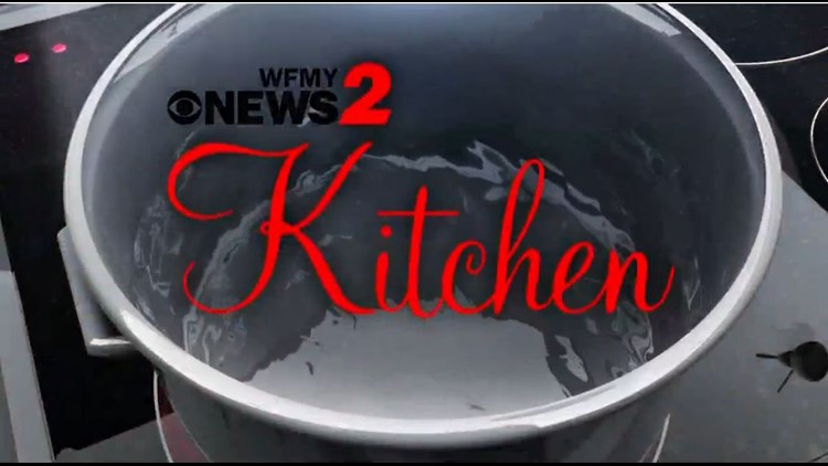 Chef Ray from Cafe Pasta joins us in the WFMY News 2 Kitchen for some Sunday dinner cooking.