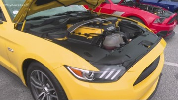 Fast and Furious: Mustang Lovers Throw A Bash For Charity