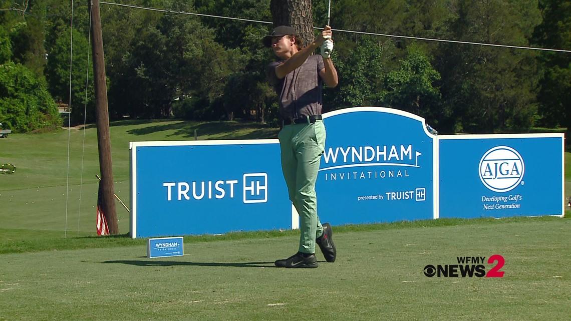 Highlights from 3rd Round of AJGA Wyndham Invitational Golf Tournament