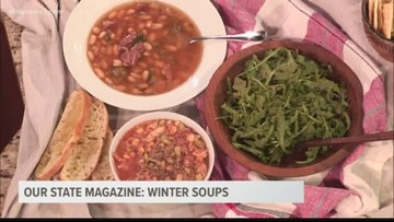 Our State Magazine: Warm winter soups