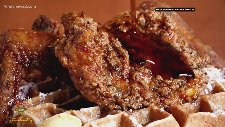 Dame's Chicken and Waffles celebrates Black History Month in Greensboro