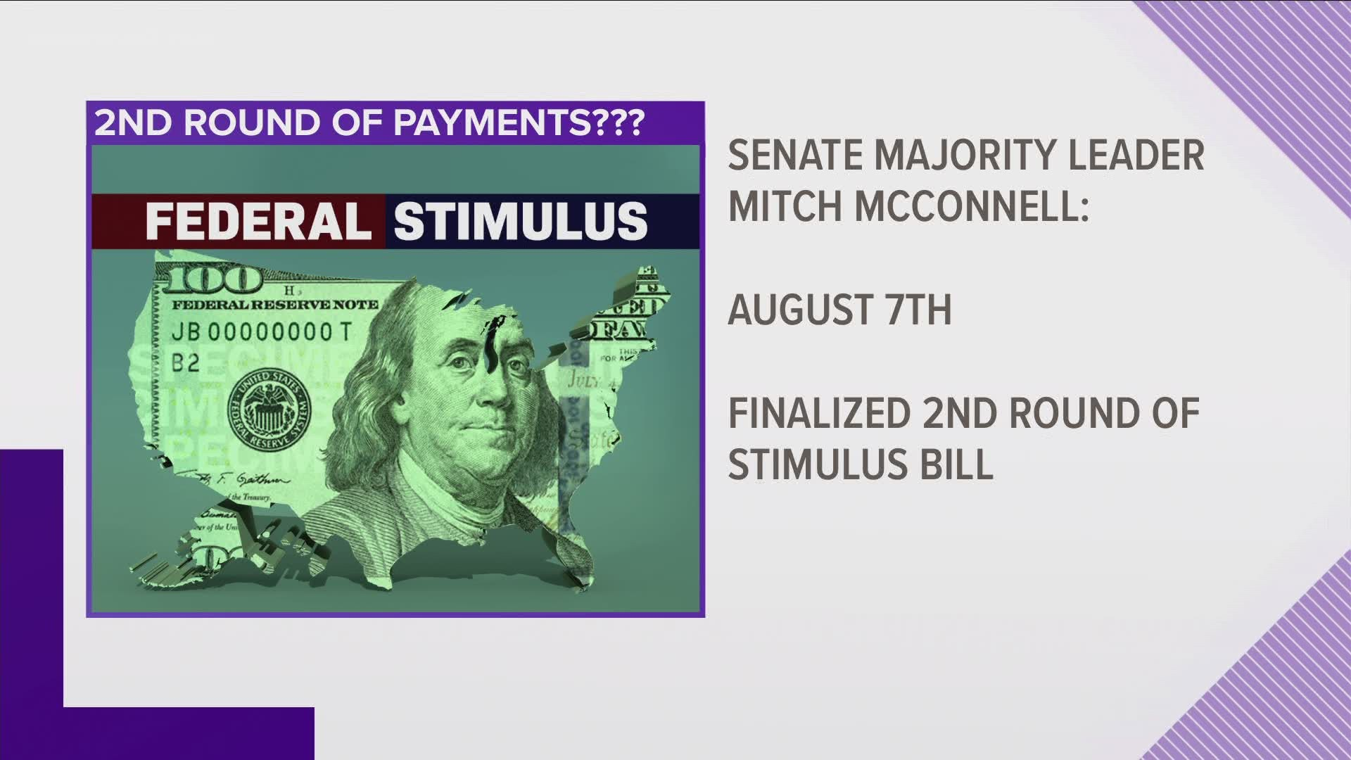The Timeline For The Second Round Of Stimulus Wfmynews2 Com